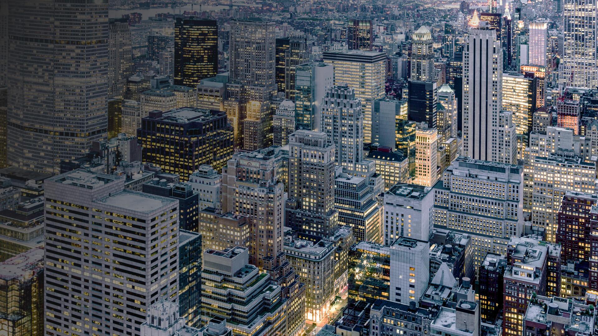 skyline image of New York City